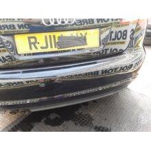 2007-2013 Audi A3 Sport Tfsi Hatchback 5 Door Bumper (rear) Black Ly9b - Used