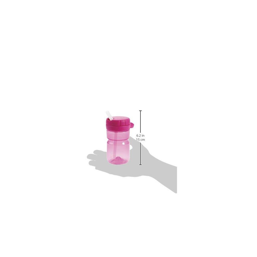 OXO Tot Twist Top Water Bottle Raspberry