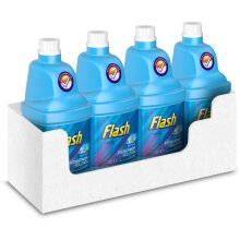 Flash Powermop Cleaning Solution Refill Multi-Surface, 1.25L x 4 Pack