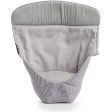 ERGObaby Infant insert for Baby Carrier Collection Performance (3.2 - 5.kg), Cool Mesh Performance Grey