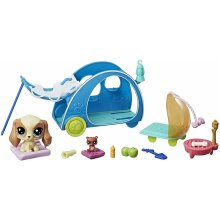 Littlest Pet Shop Cozy Camper Collect Kids Collectible Toy