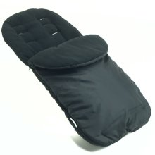 Footmuff / Cosy Toes Compatible with Buggy Pushchair Black