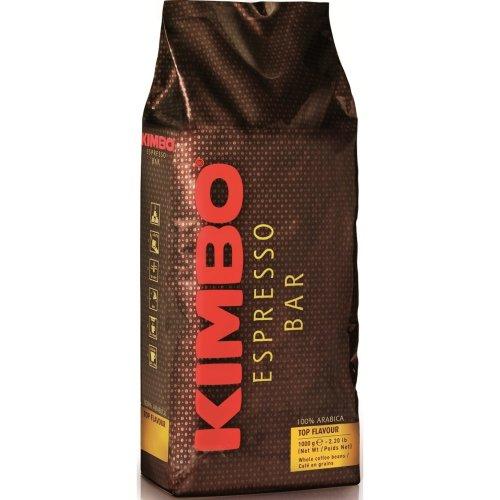 Kimbo 100% Arabica Top Flavour Coffee Beans - 1KG Bag