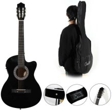 New Beginner Adult Student Full Size Acoustic Guitar Pack Starter Pack