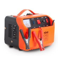 Rohr DFC-10P Car Battery Charger 10 Amp 6V / 12V | Intelligent Turbo / Trickle Charge with Battery Repair and Maintainer Technology