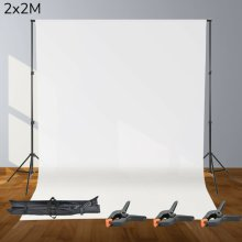 2x2M Photography Photo Studio Background Support Stand Kit