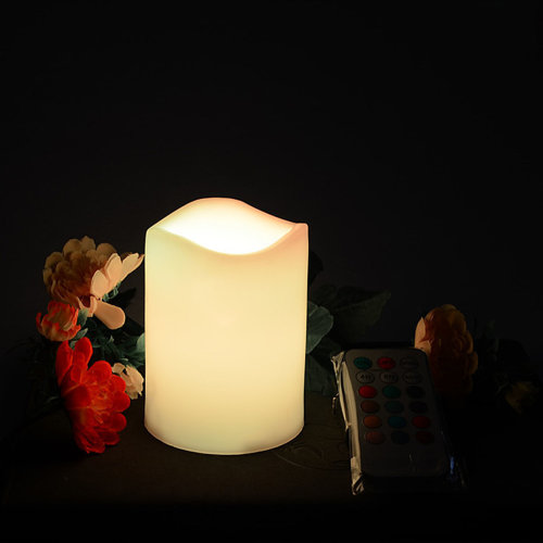 3pc LED Candles Set | Remote Controlled Battery Candles