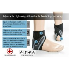 Adjustable Breathable Ankle Support Lightweight Brace Ankle Support