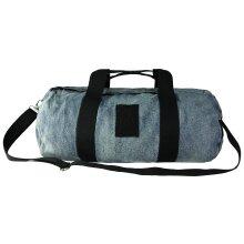 Puma x XO Denim Large Duffle Bag Unisex Blue 075296 01