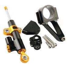 CNC Motorcycle Hyperpro Direction Steel Ring Damper Set For Honda CBR600 CBR600F4I 2001-2007