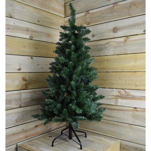 120cm (4ft) New Foundland Slim Pine Christmas Tree - 71cm Diameter