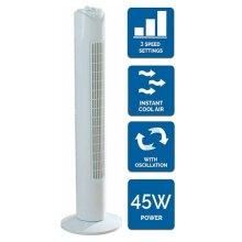 Tower Fan Slim 32 inch Portable Floor Wind Rotor 3 Speed Settings