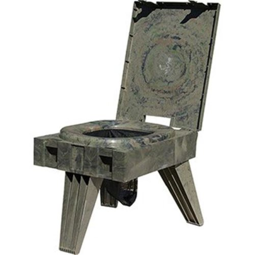 Cleanwaste 358015 Go Anywhere Port Toilet, Camo