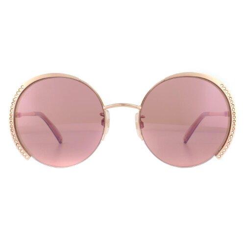 Swarovski Sunglasses SK0280-H 33U Rose Gold Pink Bordeaux Mirrored