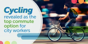 Cycling revealed as the top commute option for city workers