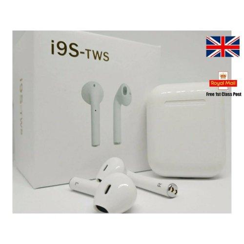 I9S TWS earpods 5.0 Wireless Earphone Earbuds IPHONE SAMSUNG SONY