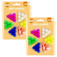 Bike Spokies   Colourful Bike Spoke Beads