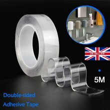 5M Nano Magic Clear Double Sided Grip Tap Adhesive