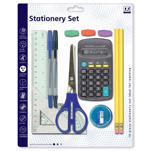 13pc Anker School Stationary Set