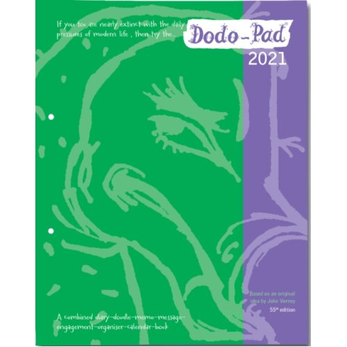 Dodo Pad LOOSE-LEAF Desk Diary 2021 - Week to View Calendar Year Diary by Compiled by Naomi McBride