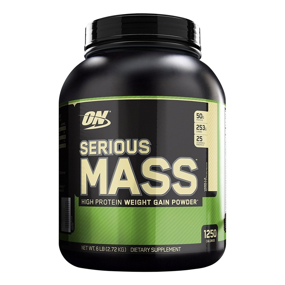 (Vanilla, 2.73kg) Optimum Nutrition Serious Mass