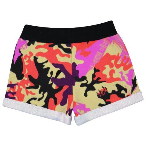 Kids Girls Shorts Fleece Camouflage Baby Pink Summer Hot Short Dance Gym Pants