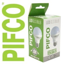 PIFCO 5 Watt E27 ES LED GLS 320 Lumen Energy Saving Warm White Light Bulbs