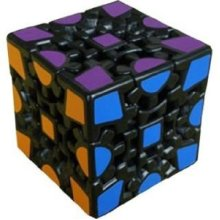MeffertS Speedcubing Puzzle Gear Cube Black Body