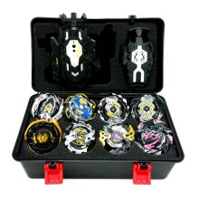 8pcs Beyblade Set With Launcher Kids Gift Toy