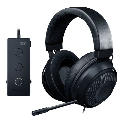 RAZER Kraken Tournament Edition 7.1 Gaming Headset - Black, Black