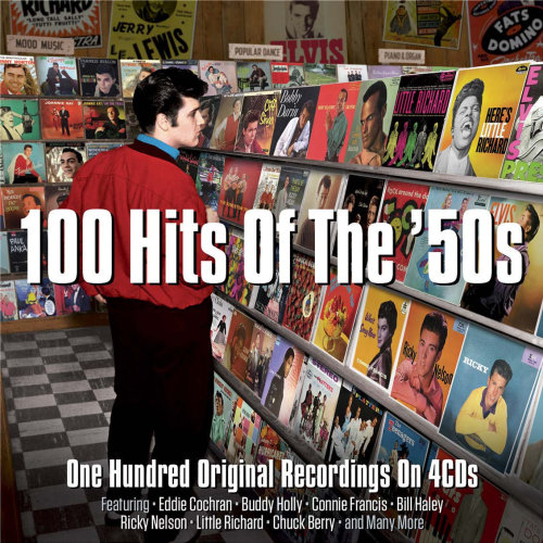 100 Hits Of The 50's (Various Artists) 4CD