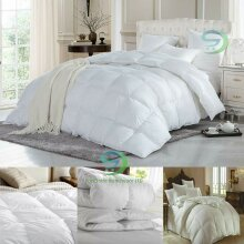 13.5 Tog Luxury Hotel Quality Goose Feather & Down Duvet Quilt Bedding Or Pillow