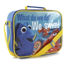 New Girls Boys Kids Disney Finding Nemo Character Insulated Polyester Lunch Bag