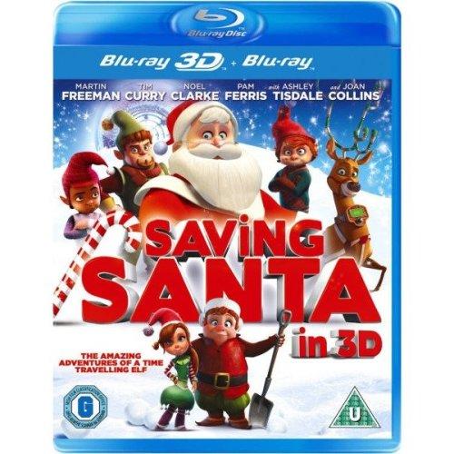 Saving Santa 3D Blu-Ray Blu-Ray [2014]