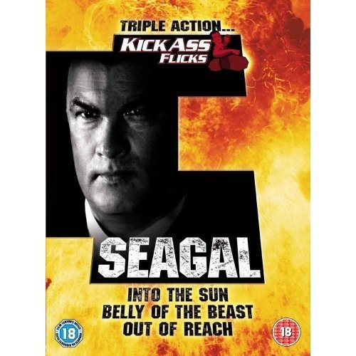 Seagal - Belly Of The Beast / Into The Sun / Out Of Reach DVD [2007]