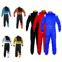 Kids Juniors Karting Suit Race Rally Overall Suits Poly cotton Indoor & Outdoor