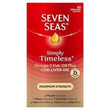 Seven Seas Omega-3 Fish Oil Plus Maximum Strength 30 capsules