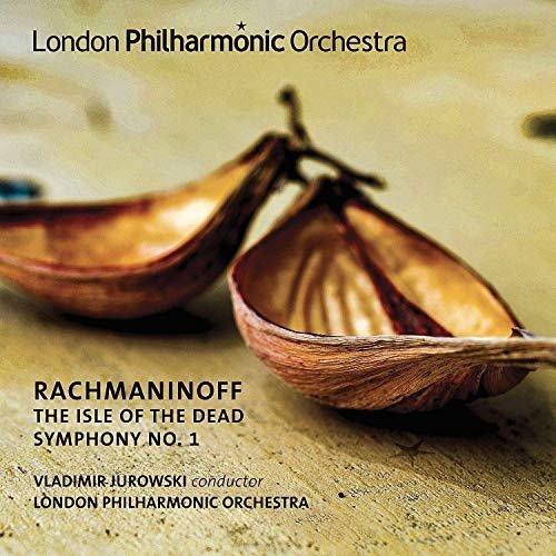 LONDON PHILHARMONIC ORCHESTRA VLADIMIR JUROWSKI - RACHMANINOFF: SYMPHONY NO. 1 and ISLE OF THE DEA [CD]