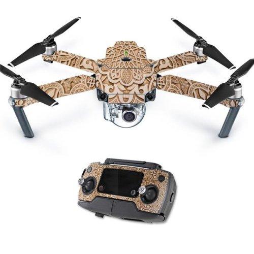 MightySkins DJMAVPRO-Carved Skin Decal Wrap for DJI Mavic Pro Quadcopter Drone Cover Sticker - Skins Carved