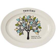 DEI Teacher Platter, 9 X 12, Mulitcolor