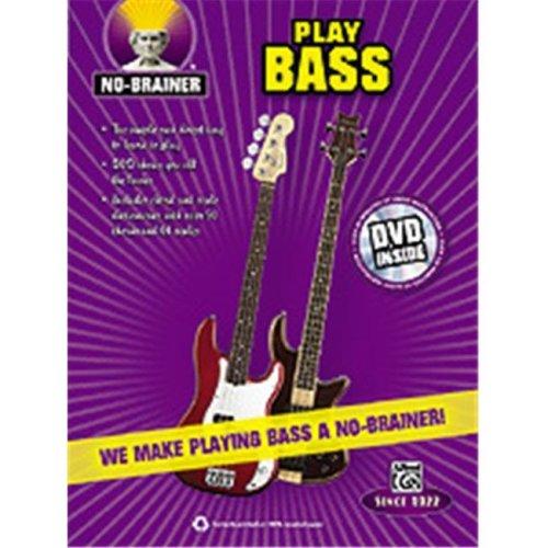 Alfred 00-35320 NO BRAINER PLAY BASS-BK&DVD