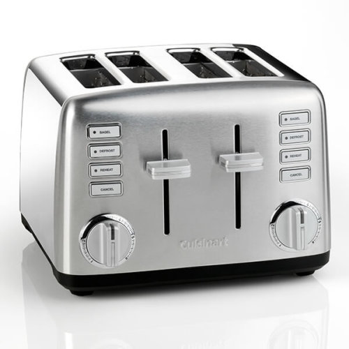 Cuisinart CPT450BPU Signature Collection 4-Slice Toaster 2000W Defrost Reheat
