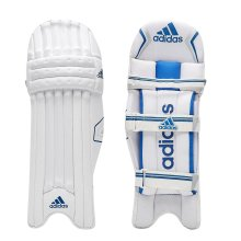 adidas Libro 4.0 Cricket Junior Batting Pads Leg Guards White/Blue