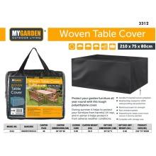 Bistro Waterproof Heavy Duty Outdoor Large Garden Table Cover 210 x 75 x 80cm