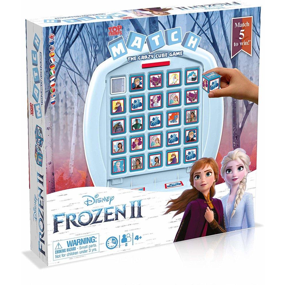 Top Trumps Disney Frozen 2 Match Board Game