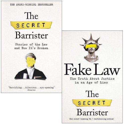 The Secret Barrister, Fake Law 2 Books Collection Set