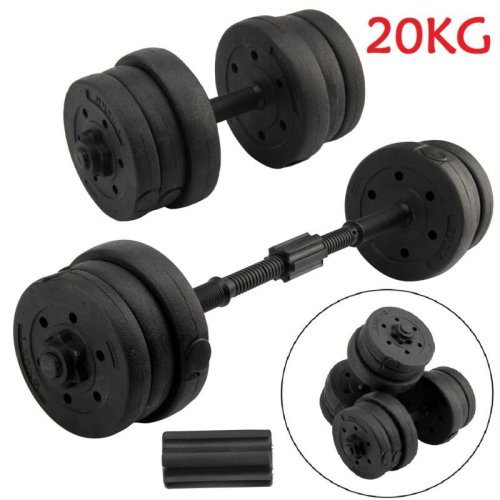 20KGWeights Dumbbell Set Gym Workout Fitness Biceps Exercise Home