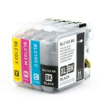 Compatible Brother LC103 Set of 4 ink cartridges