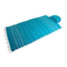 The Sunrest Beach Towel with Air Pillow and Bag