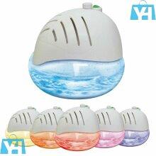 Globe Air Revitaliser Purifier Freshener 7 Colour Changing LED Light
